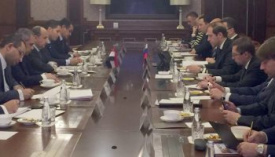 DETAILS OF THE TALKS OF THE TRADE MINISTER WITH HIS RUSSIAN COUNTERPART TO STRENGTHEN THE STRATEGIC PARTNERSHIP